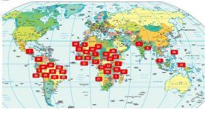 Weltkarte 1-40